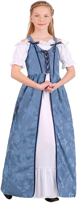 Girls Renaissance Villager Costume