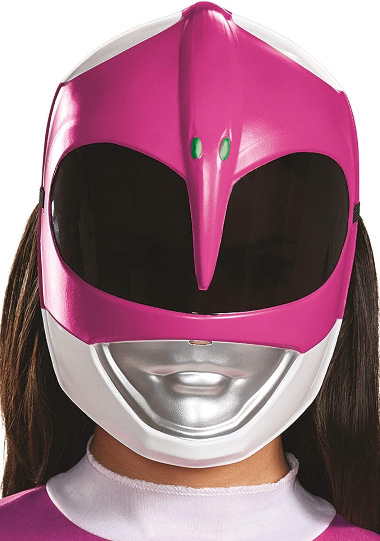 Disguise Women's Pink Ranger Adult Mask