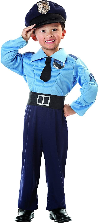 Seasons Police Officer Toddler Costume