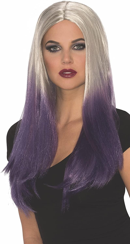 Rubie's Women's Sassy Naomi Wig, Purple/Silver, One Size