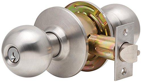 Dexter Commercial Hardware C2000-STRM-B-613-KDC Grade2 Storeroom Cylindrical Lock with Ball Knob Trim, Oil Rubbed Dark Bronze, 2 3/4