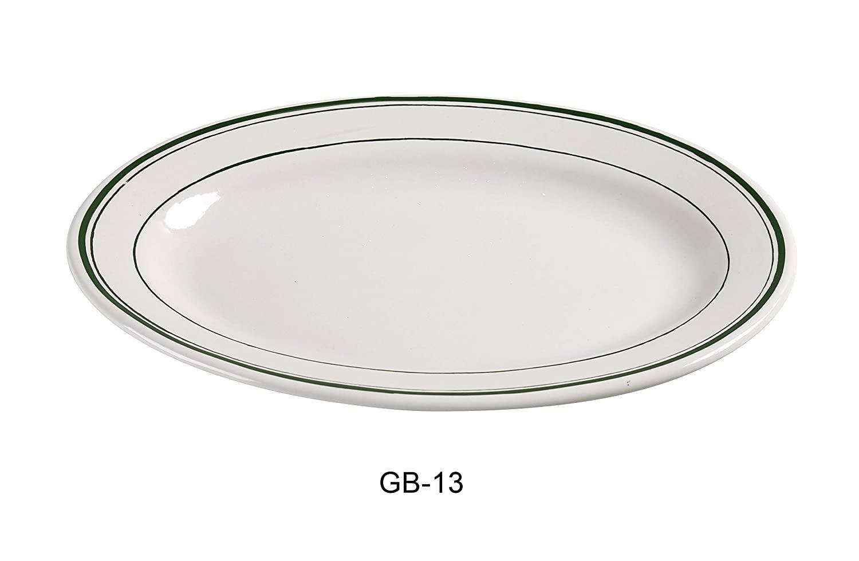 Yanco GB-13 Green Band Platter, 11.5