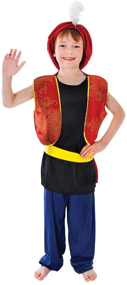 Bristol Novelty Arabian Boy Costume (XL) Age 9 - 11 Years