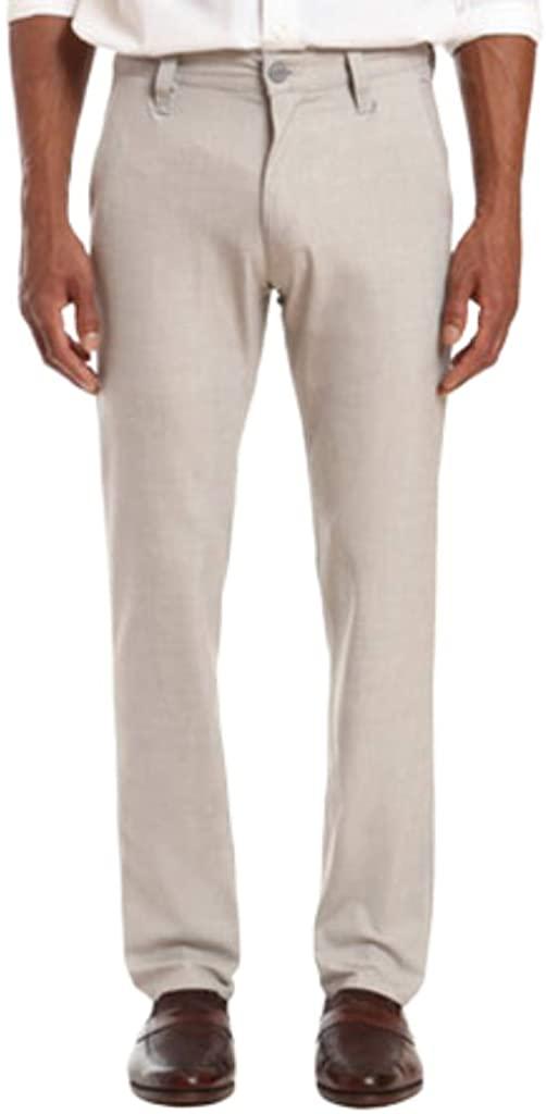 34 Heritage Mens Charisma Straight Leg Sand Summer Melange Trouser Pants