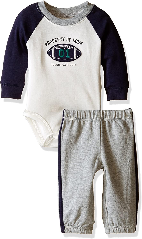 Carter's Baby Boys 2pc Little Wildnerness Scout L/S Bodysuit & Pants Set