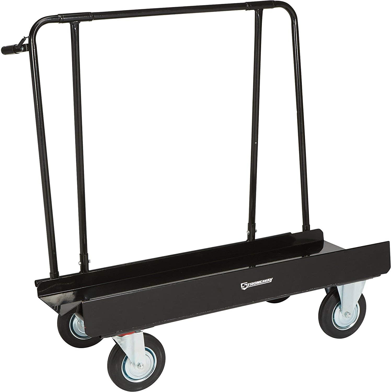 Strongway Drywall Dolly Cart -1600-Lb. Capacity