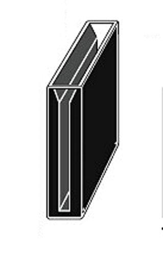 Customized Micro Quartz Cuvette, Black Wall, 4cm Lightpath 1.4ml, 1mm Slit, 40mm Lightpath,cuvettes, Cell