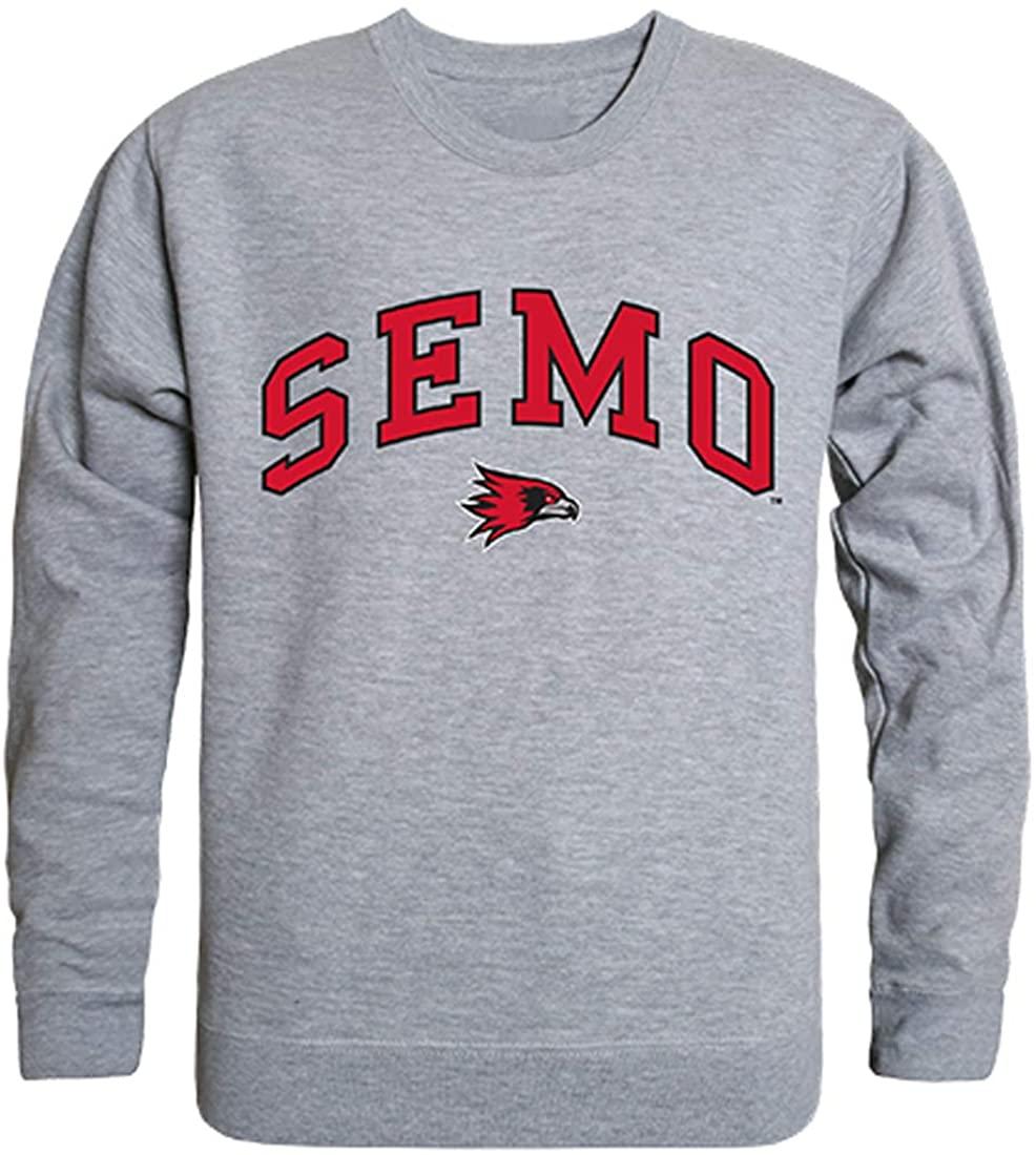 W Republic SEMO Southeast Missouri Redhawks NCAA Men's Campus Crewneck Fleece Sweatshirt