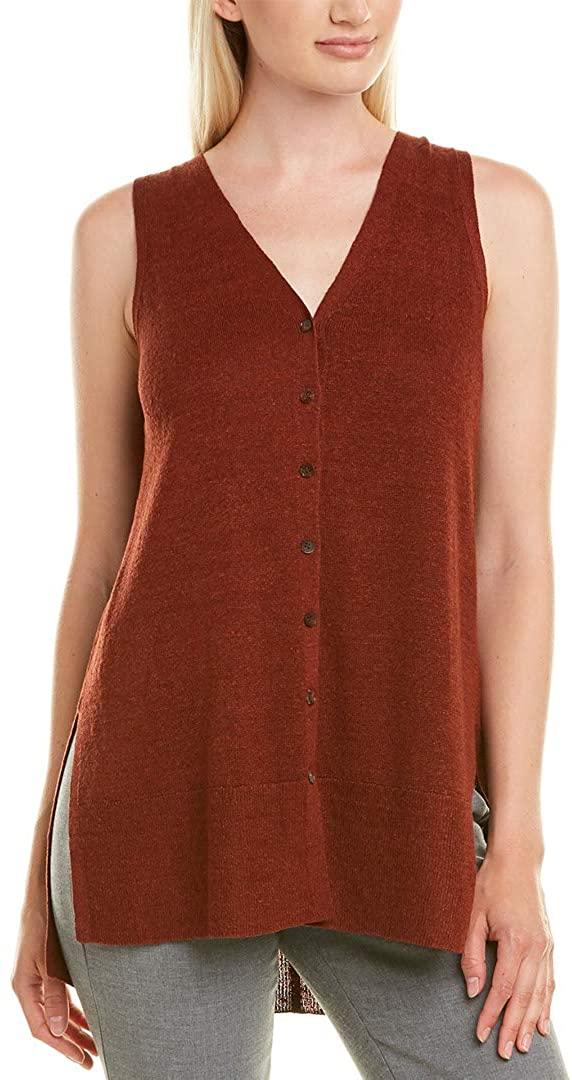 Lafayette 148 New York Womens Knit Summer Knit Top