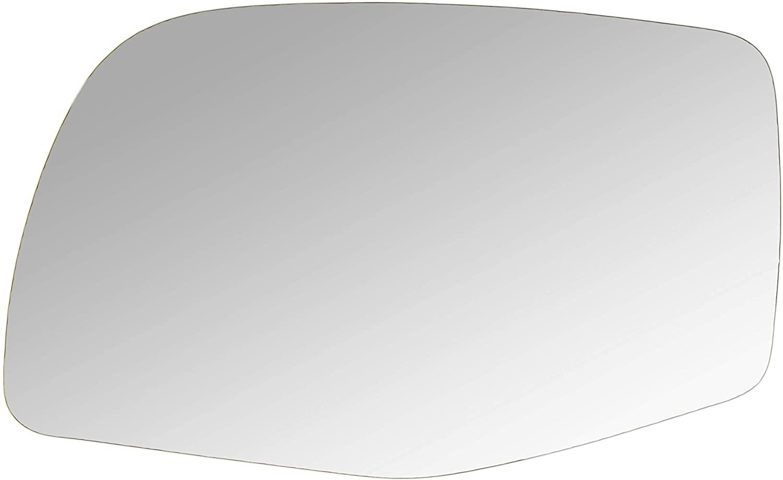 DNA Motoring SMP-032-L Left/Driver Side Door Rear View Mirror Glass Lens
