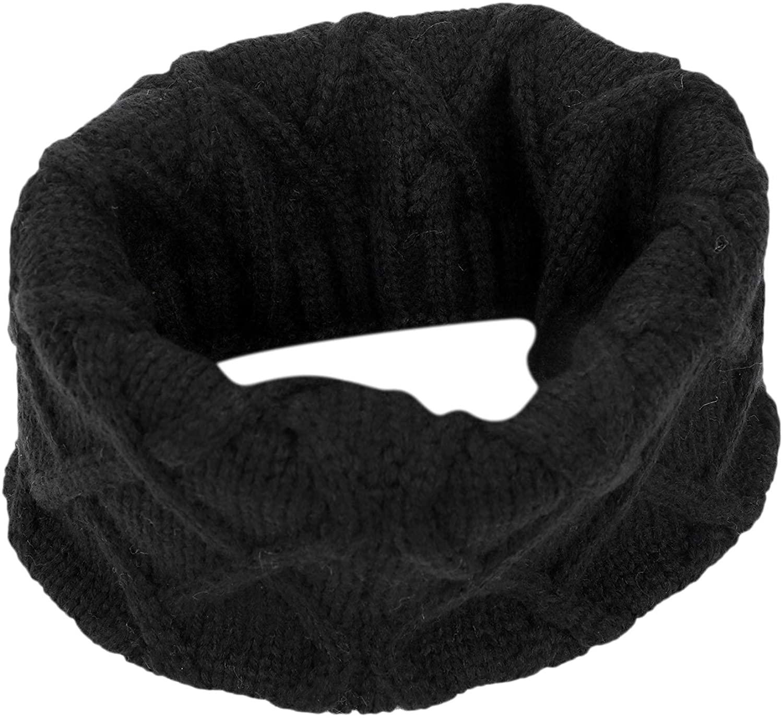 Boys Girls Warm Knit Scarf Neckwarmers Winter Thicken Shawl Muffler Scarves Wrap