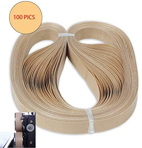 100pcs/lot 750mm Teflon Belt for FR-900 FR-1000 Continuous Band Sealer continuous sealing machine belt