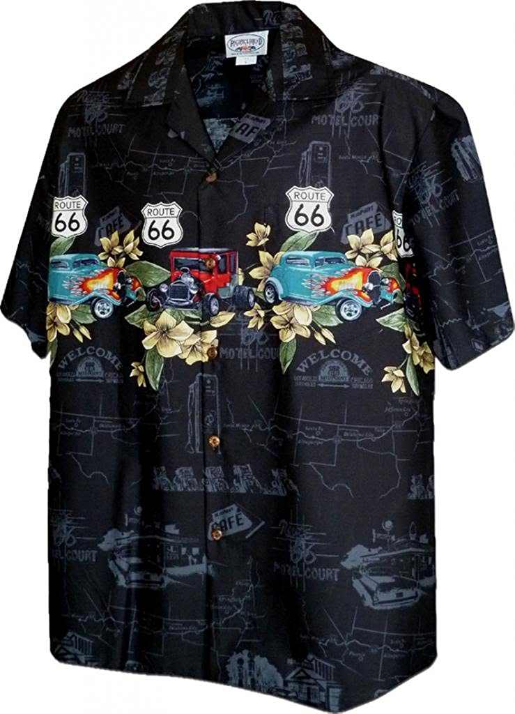 Historic Route 66 with Classic Cars Shirts