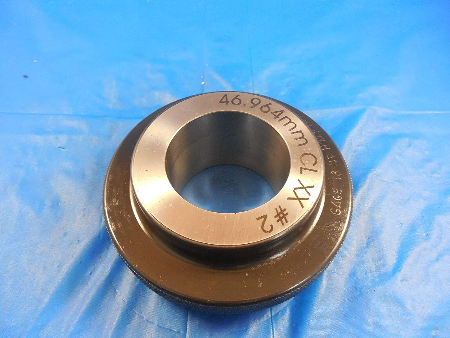 46.964 Class XX Master Plain BORE Ring GAGE 47.000 -.036 Undersize 47 mm 1.8490