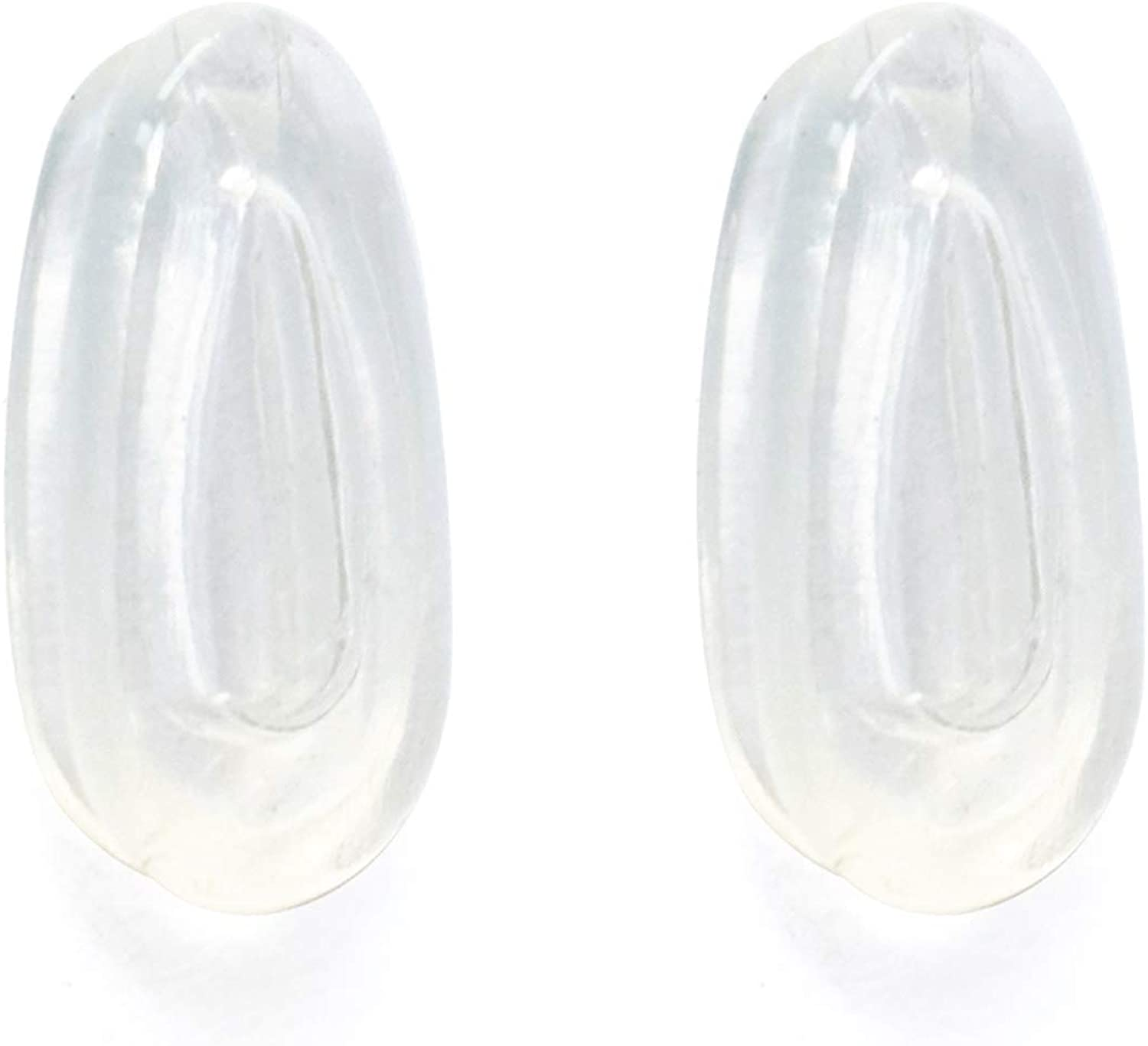 Clear Nose Pads for Oakley Elmont M Sunglasses