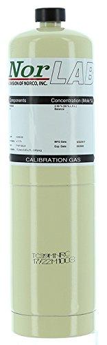 99.999% by Volume Nitrogen Calibration Gas, 17 Liter Steel Cylinder.