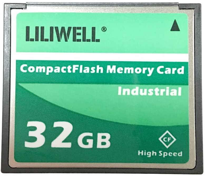 LILIWELL Original Extreme 32GB Compact Flash Memory Card Industrial (TS32GCF300X)