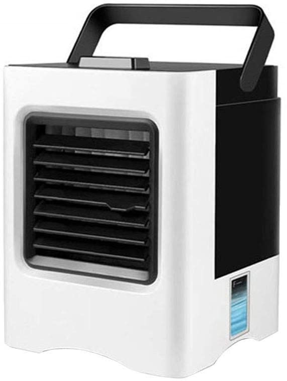 Portable Air Cooler 4 In 1 Mini Air Cooler Portable Small Air Conditioner Desktop Cooling Fan Home Office Cooler Humidifier Purifier