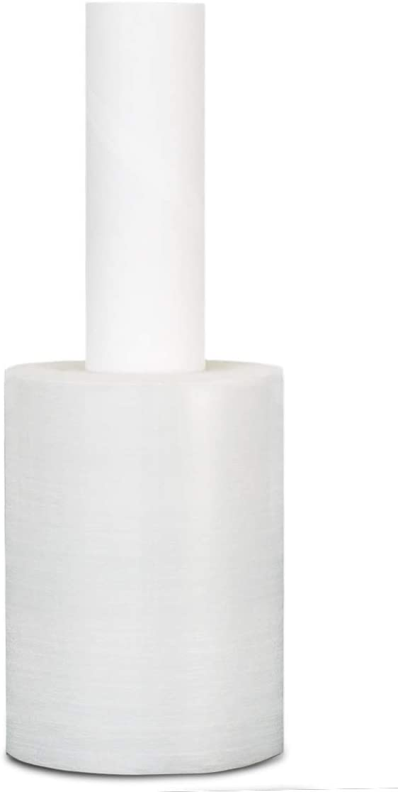 Clear Extended Core Stretch Wrap 5 Inch x 1000 Feet x 70 Gauge 48 Rolls