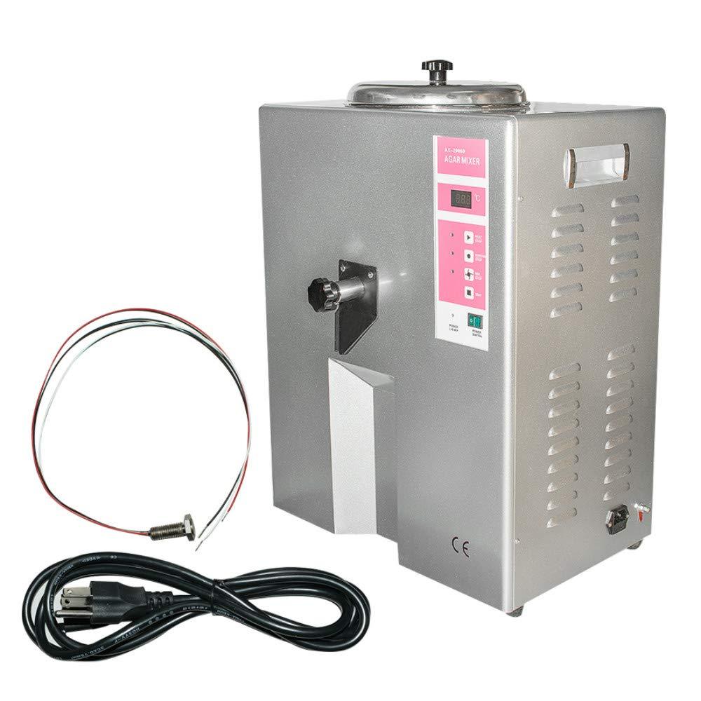 Agar Gel Mixer, Enshey Duplicating Machine Dental Lab Equipment Duplicating Gel Melting Stirrer 500W