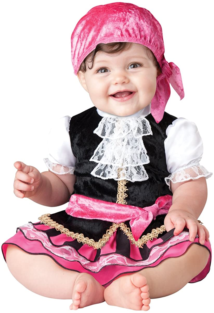 InCharacter Baby Girls Pretty Little Pirate Costume