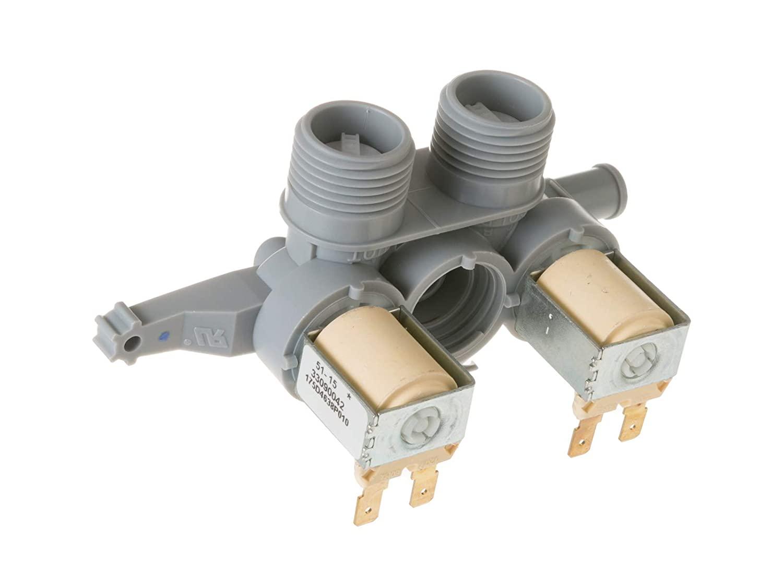 ClimaTek Upgraded Washing Machine Solenoid Inlet Valve fits GE Hotpoint AH2354072 EA2354072 PS2354072