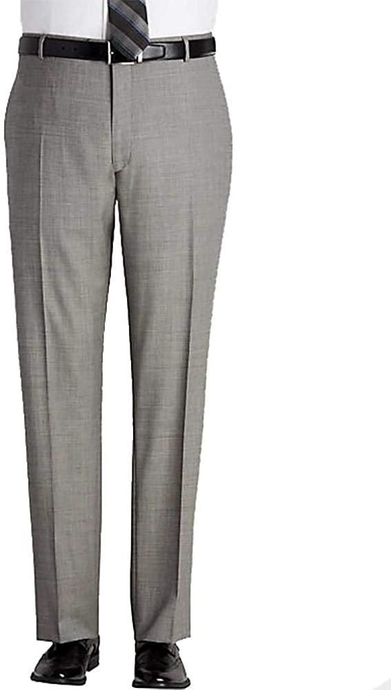 Ascott Browne Flat-Front Poly-Wool
