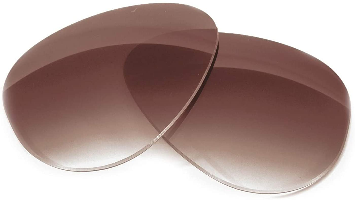 Fuse Lenses Polarized Replacement Lenses for Coach HC 8132 (57mm)