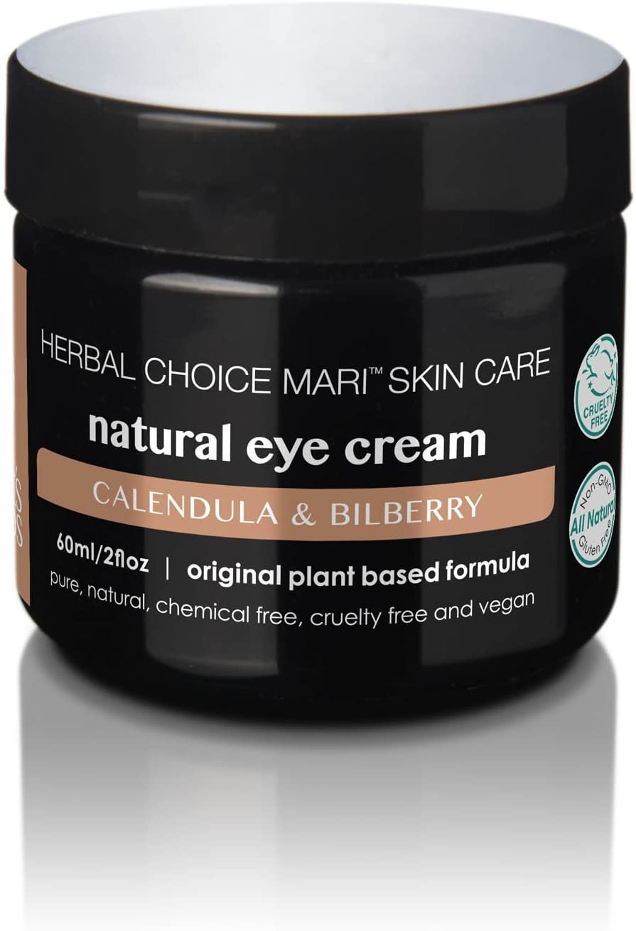Herbal Choice Mari Natural Eye Cream; 2floz BPA-Free Plastic