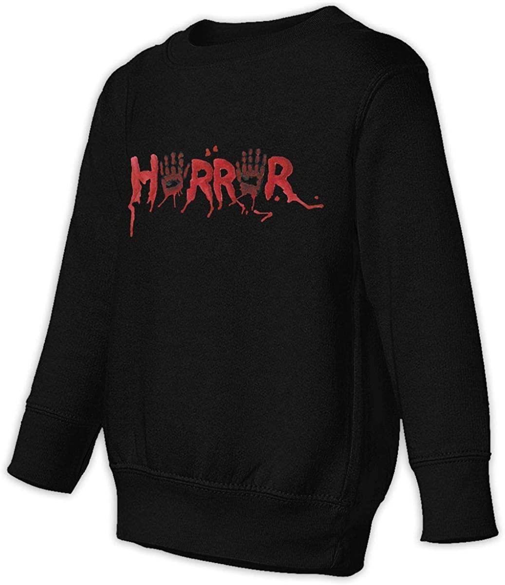 1836 Horror Movie Unisex Sweatshirt Youth Boy and Girls Pullover Sweatshirt 2t Black