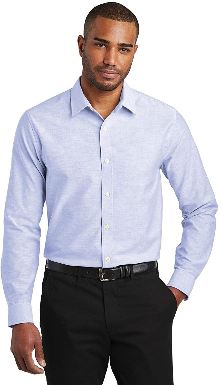 Port Authority Slim Fit SuperPro Oxford Shirt XL Oxford Blue
