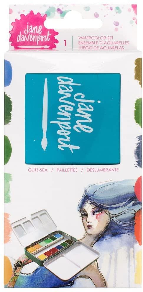 Jane Davenport Glitz Sea-Watercolor Pastels