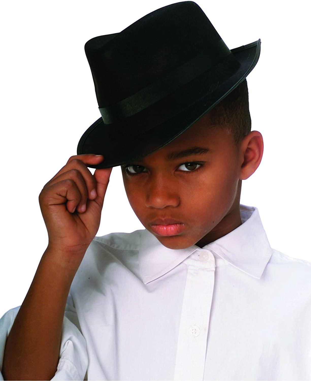 Rubie's Costume Co - Black Durashape Fedora Child Hat