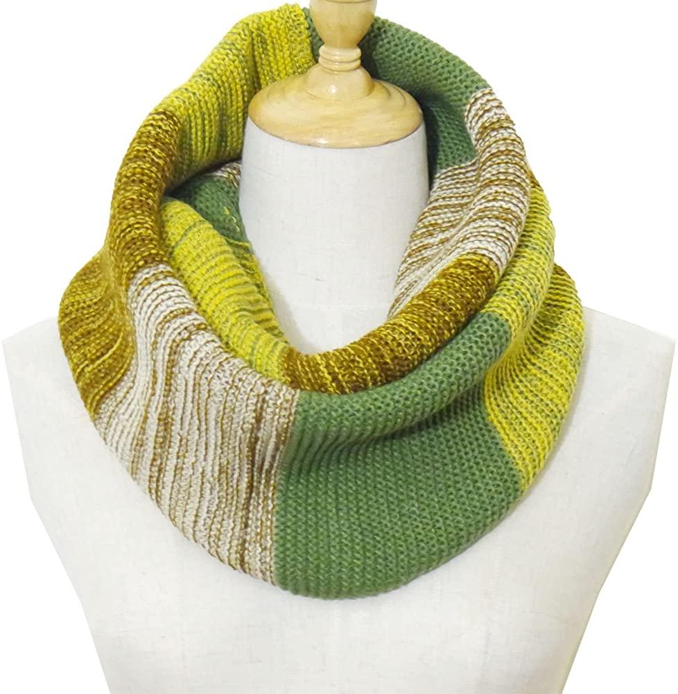 YJC Essentials Women's Fashion Long Shawl Warm and Cozy Scarf (B.OLIVE)