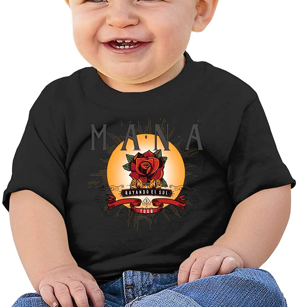 AP.Room Short Sleeve Comfortable Shirt Particular Mana Baby T-Shirt