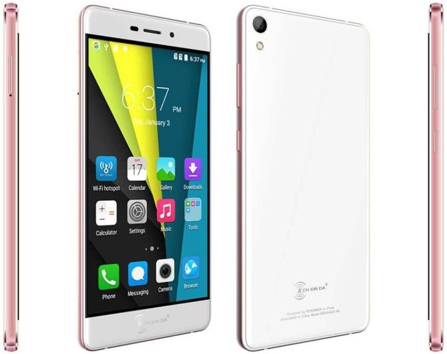 New Trend! Kenxinda R6 5.2 Inch FHD Screen MTK6753 Bluetooth 4.0 Ultrathin Smartphone (Rose gold)