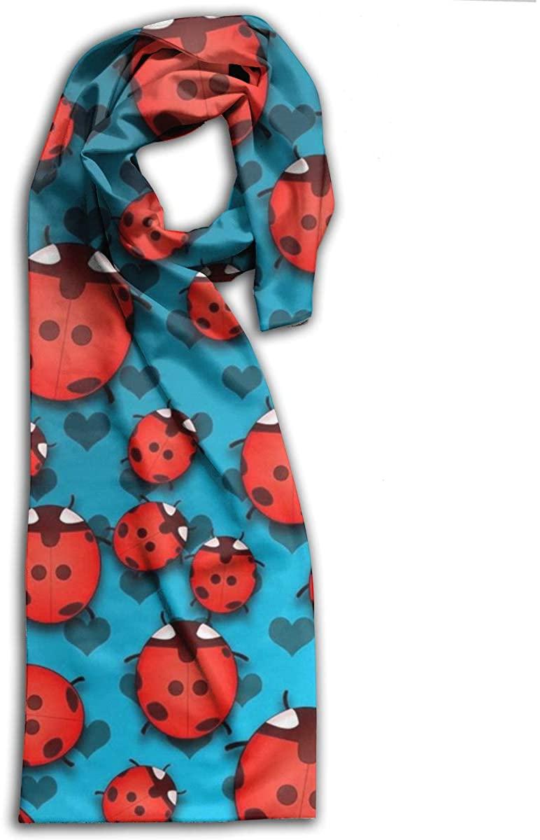Adult Scarf,Ladybug Wraps Beautiful Shawls Soft Scarves For Men And Women