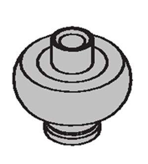 LCN 2030SPL3034 P-1152 689 Aluminum Roller