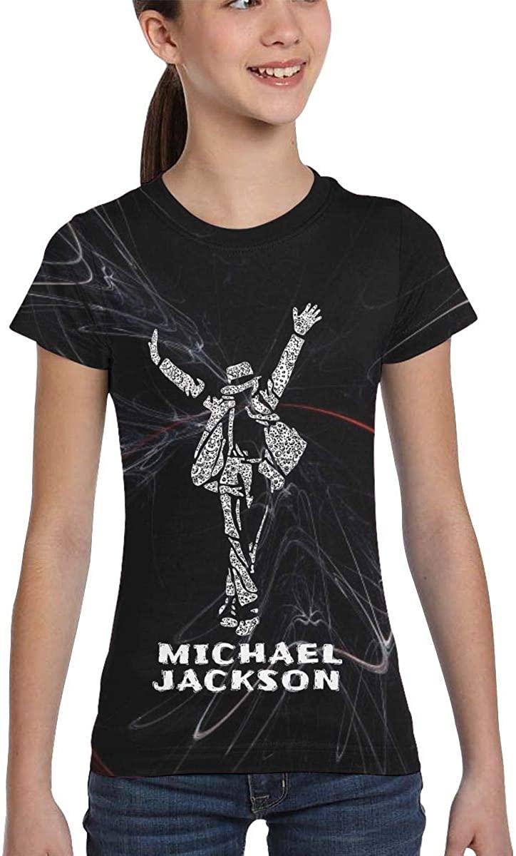 Michael Jackson Graphic Art Tshirts Girl's Kids T-Shirt Shirt Boy Girl Summer Tops Tee