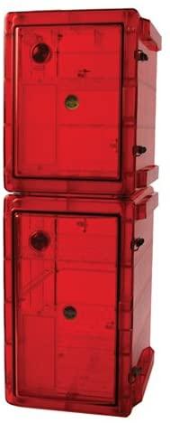 Bel-Art Bundled Secador 4.0/4.0 Gas-Purge Desiccator Cabinets in Amber Color; 3.7 cu. ft. (F42074-0440)