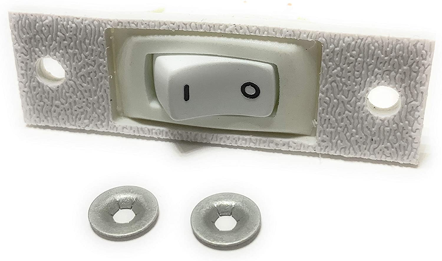 C300 Replacement White Fan Rocker Switch Compatible With Whirlpool Jenn-Air Cooktops