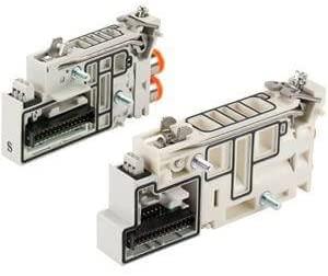 SMC VVQC2000-1A-D-N7 - SMC VVQC2000-1A-D-N7 Pneumatic Manifold Block Assembly, Wiring Type: Double Wiring, Air Supply Port Size: 1/4