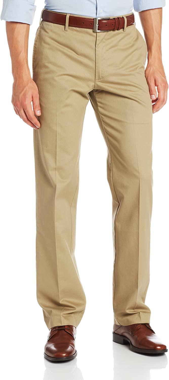 IZOD Men's Madison Chino Flat Front Slim Fit Pant