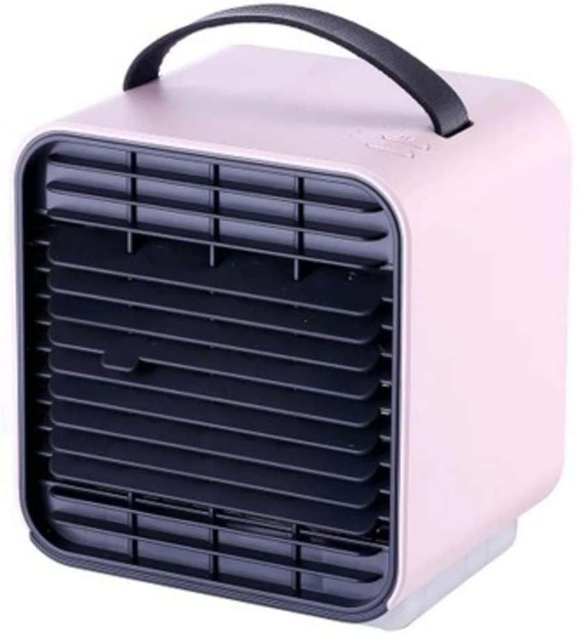 HOMRanger Mini Air Conditioner,Personal Desktop Quiet Space Portable USB Air Cooler Multi-Function 3-Speed-b 14x13x12cm(6x5x5)