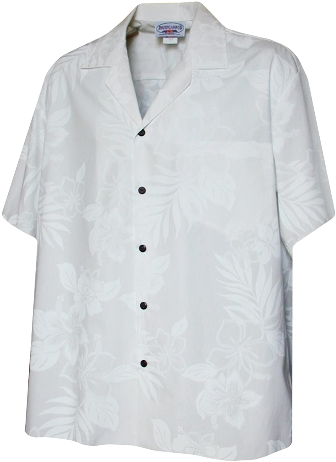 Pacific Legend Boys Classic Hibiscus Fern Shirt
