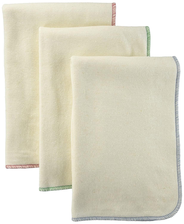 BabyKicks 3 Pack Premium Burp Cloth, Baby Boy