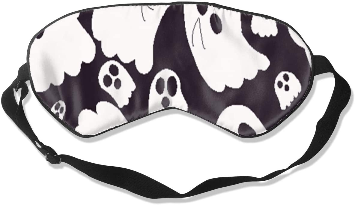 Gone with The Wind Ghost Eye Mask Sleeping Mask 100% Double-Sided Silk Eyeshade Eye Cover