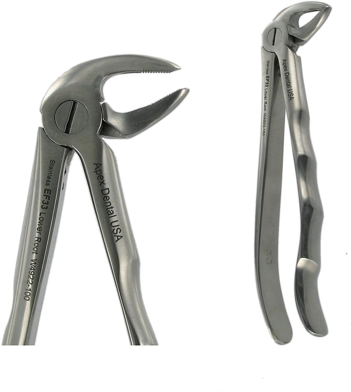 Dental USA 4922 English Forceps 33 Lower Root