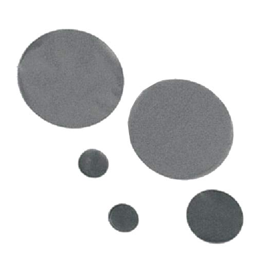 GVS Life Sciences 1221503 Polycarbonate Track Etched Black Membrane Disks, 0.1 Micron Pore Size, 47mm Diameter (Pack of 100)