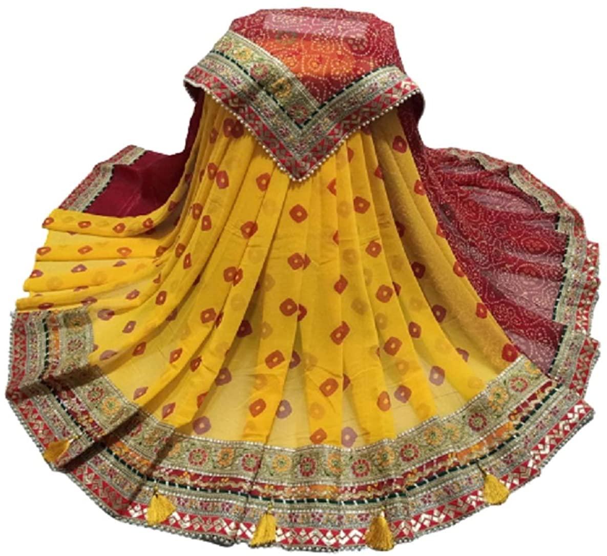 Indian Ethnic Bollywood Beautiful Designer Style Silk Cotton Style Sari Saree Moss Chiffon